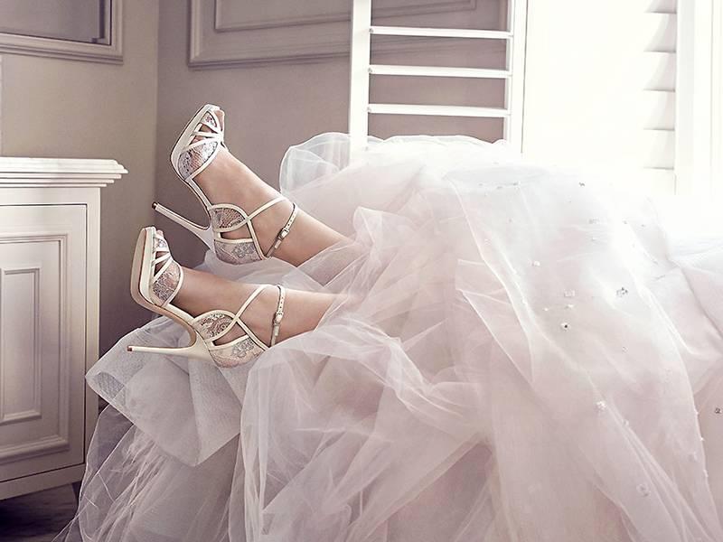 Выбираем свадебные туфли на низком каблуке. советы и рекомендации