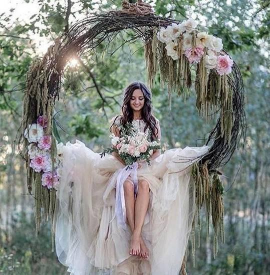 Оформляем свадьбу в стиле рустик