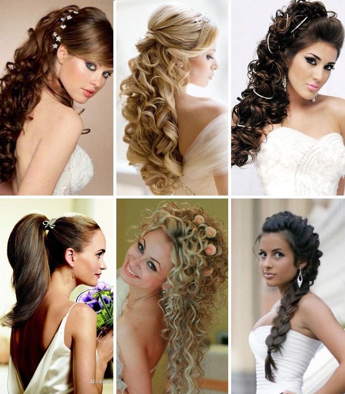 Эффектные свадебные прически на средние волосы: лучшие мастер-классы и видео-уроки