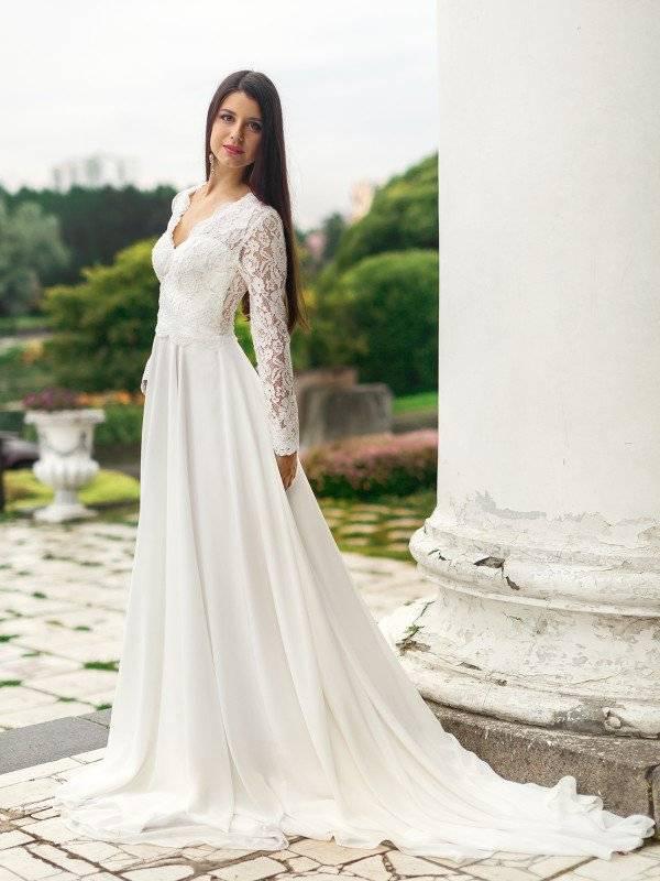 Свадебные платья для беременных – лучшие наряды для невест с округлившимся животом