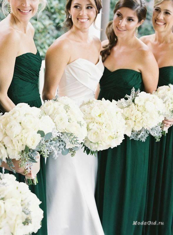 Красивое платье для подружки невесты: образ дружки, цвет и фасон платья