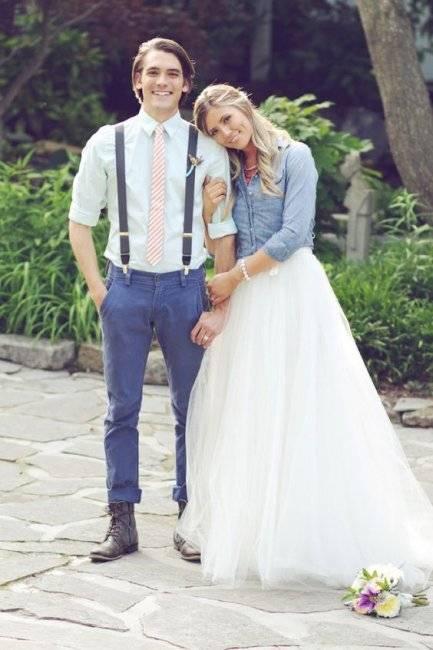 Модные стили свадеб