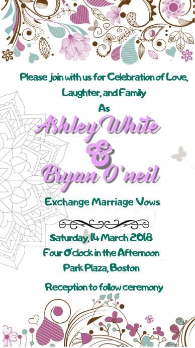 Приглашение на свадьбу в электронном виде – удастся ли удивить гостей по e-mail?
