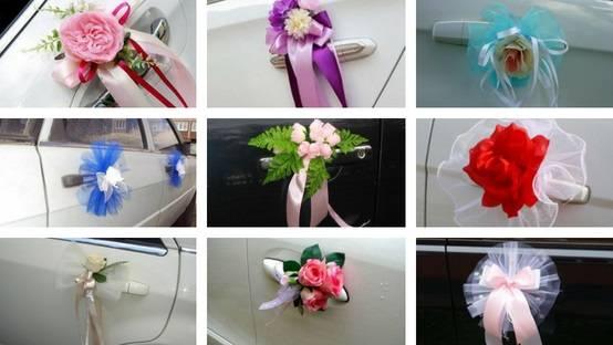 Украшения на свадебные авто. мини мк, обновляется) | страна мастеров