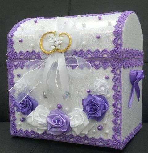 Коробка для денег (сундук) на свадьбу своими руками: интересные идеи