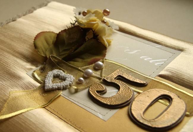 Оригинальный подарок на золотую свадьбу