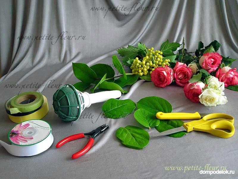 Инструкции для невест: создание букета-дублера своими руками