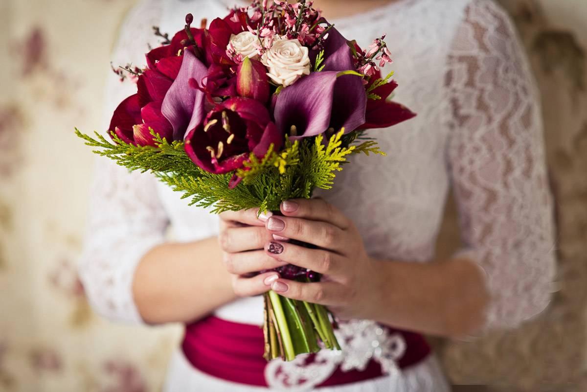 Букет невесты: какой цвет выбрать и как сделать своими руками