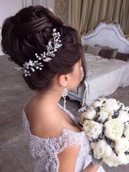 Свадебные прически с локонами: голливудская красота
