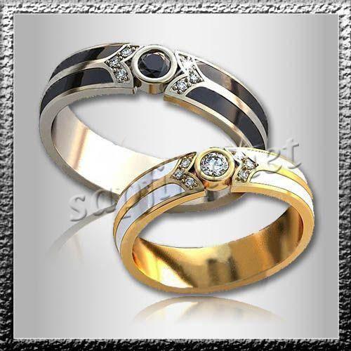 Необычные обручальные кольца: фото и идеи