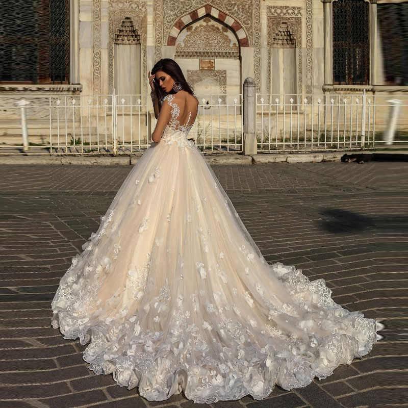 Мусульманские свадебные платья (фото)