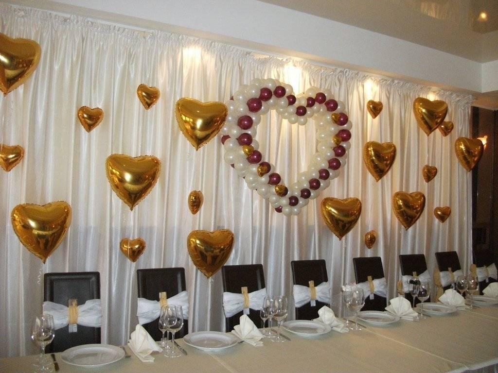 Руководство по оформлению президиума на свадьбу