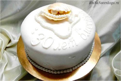 30-я годовщина: какая свадьба, что дарить