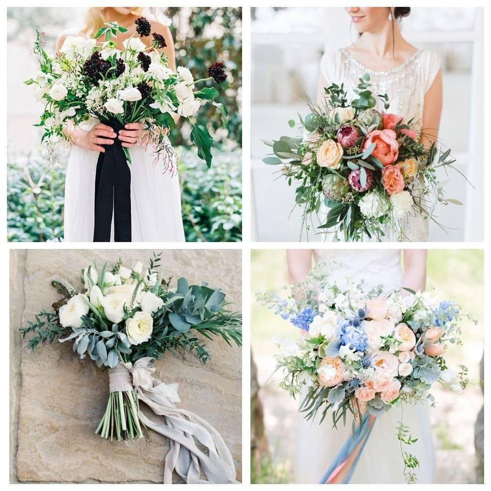 Модные свадебные букеты 2020-2021: новинки.