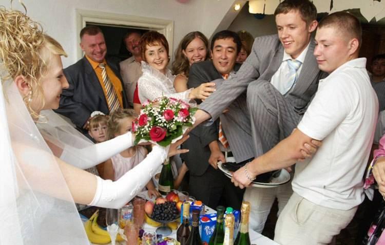 Выкуп невесты, сценарий выкупа невесты