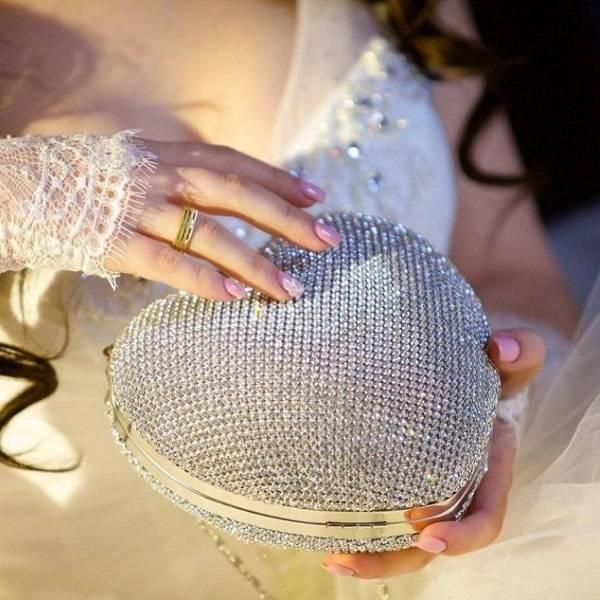 Свадебный клатч для невесты