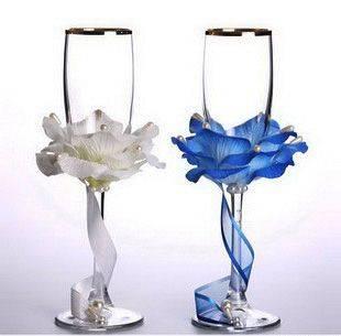 Свадебные бокалы своими руками. предсупружеский креатив