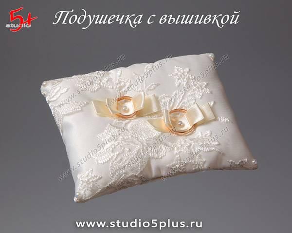 Оригинальные идеи по созданию подушечек для обручальных колец