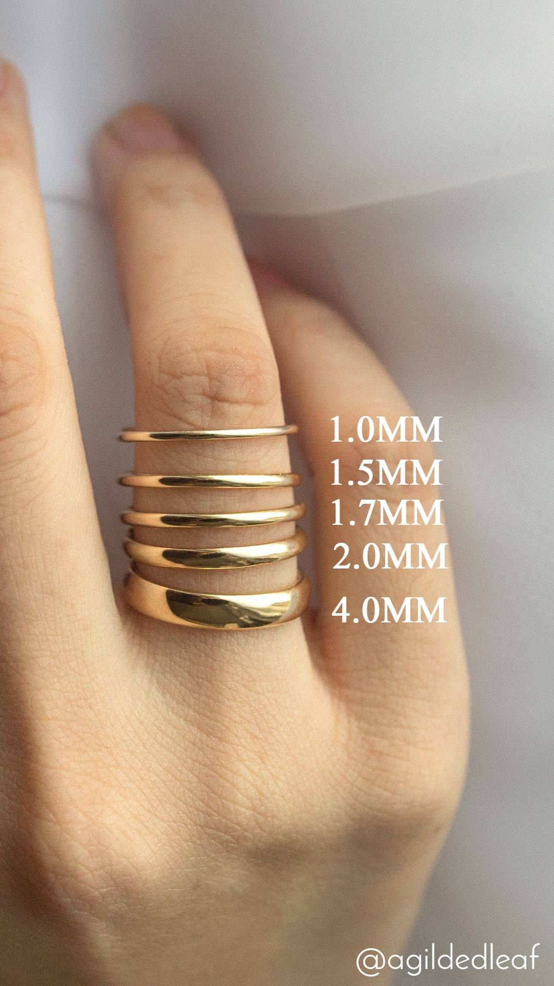 Оригинальные свадебные кольца
