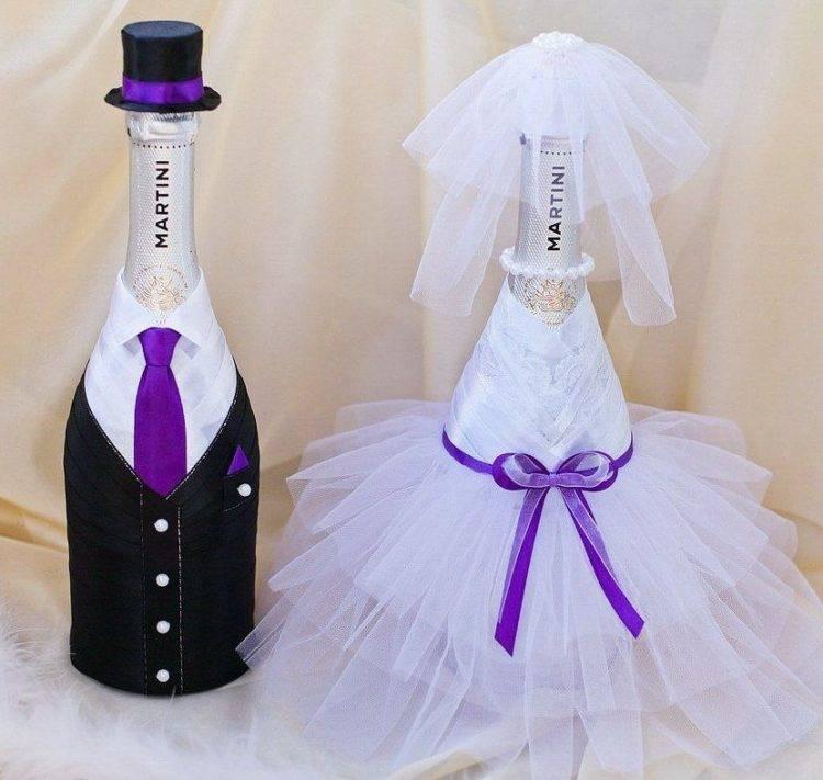 Декор бутылок: мастер-класс изготовления стильного и оригинального элемента декора (85 фото)