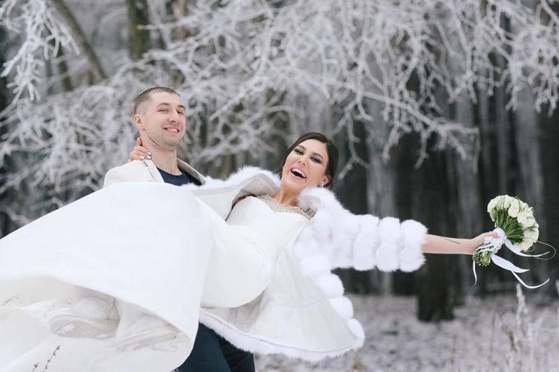 Интересные идеи для свадебной фотосессии на природе