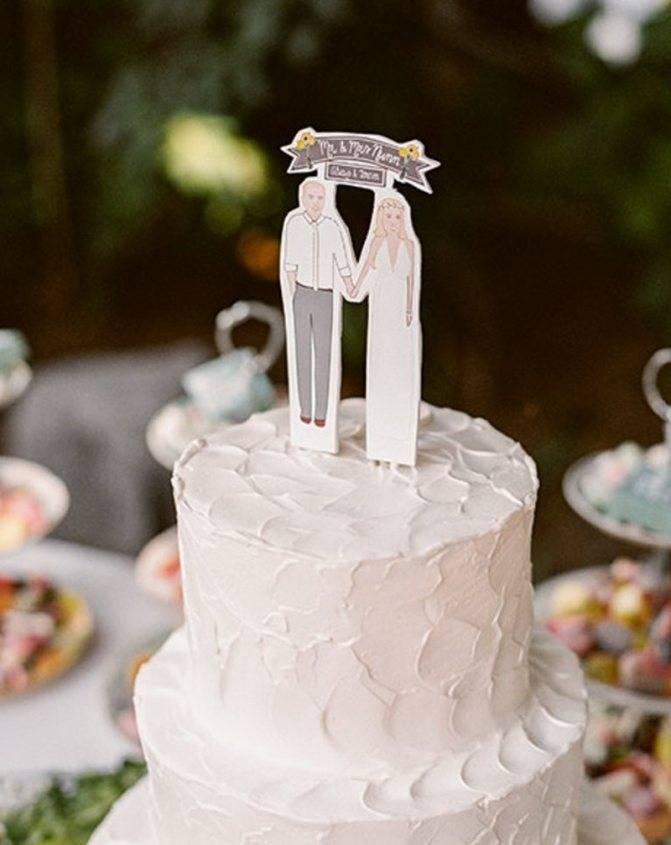 Торт на годовщину свадьбы – 5 рецептов