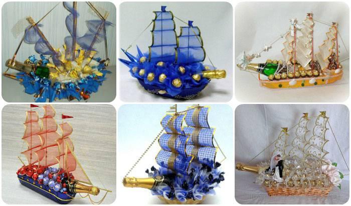 Мастер-класс свит-дизайн моделирование конструирование корабль из конфет + мк