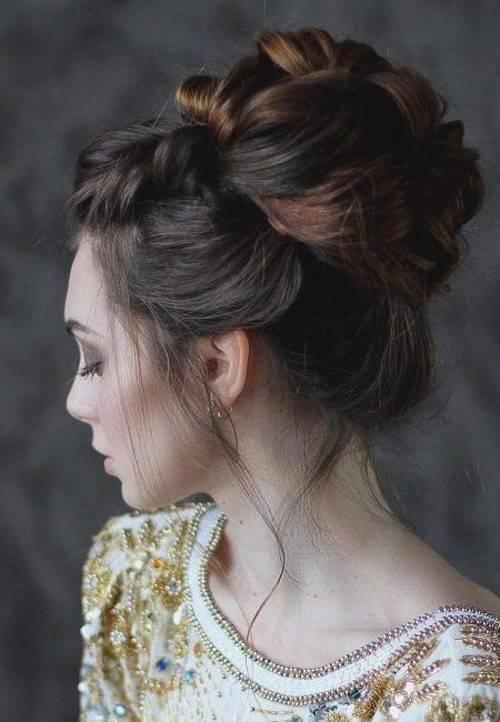 Свадебная прическа пучок (86 фото): низкая, высокая или средняя укладка на длинные и короткие волосы
