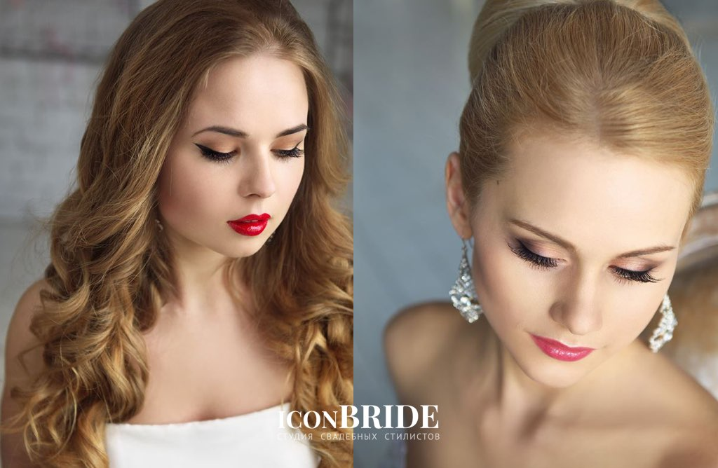 Свадебный макияж для невесты, свадебный макияж фото, макияж на свадьбу