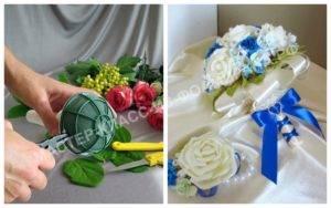 Портбукетница своими руками из конфет или пластиковых бутылок, фото и видео мастер-класс