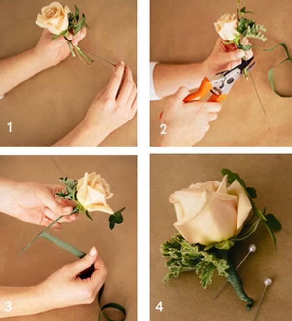 Бокалы на свадьбу своими руками  идеи с цветами и кольцами, атрибуты, штучки для молодоженов, поделки