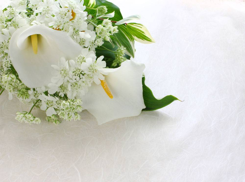 Свадебный букет своими руками из живых цветов