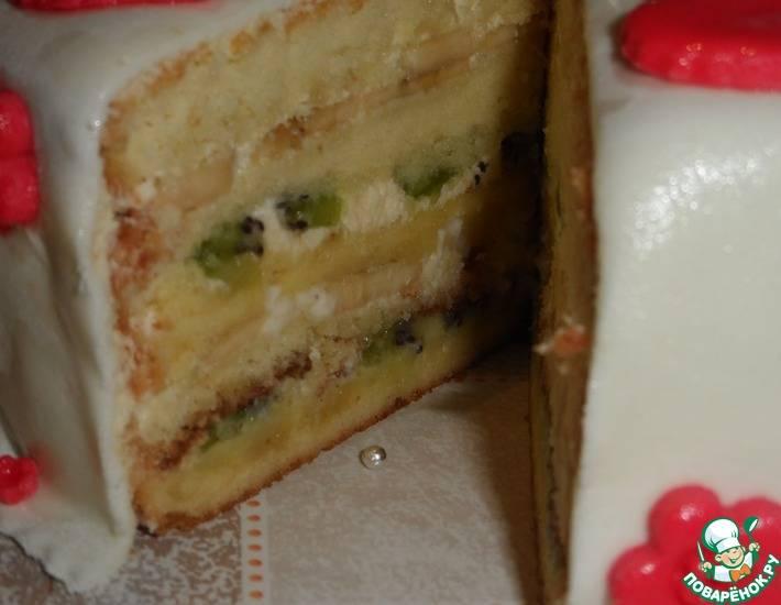 Как приготовить вкусный ягодный торт в домашних условиях с выпечкой и без - пошаговые рецепты с фото