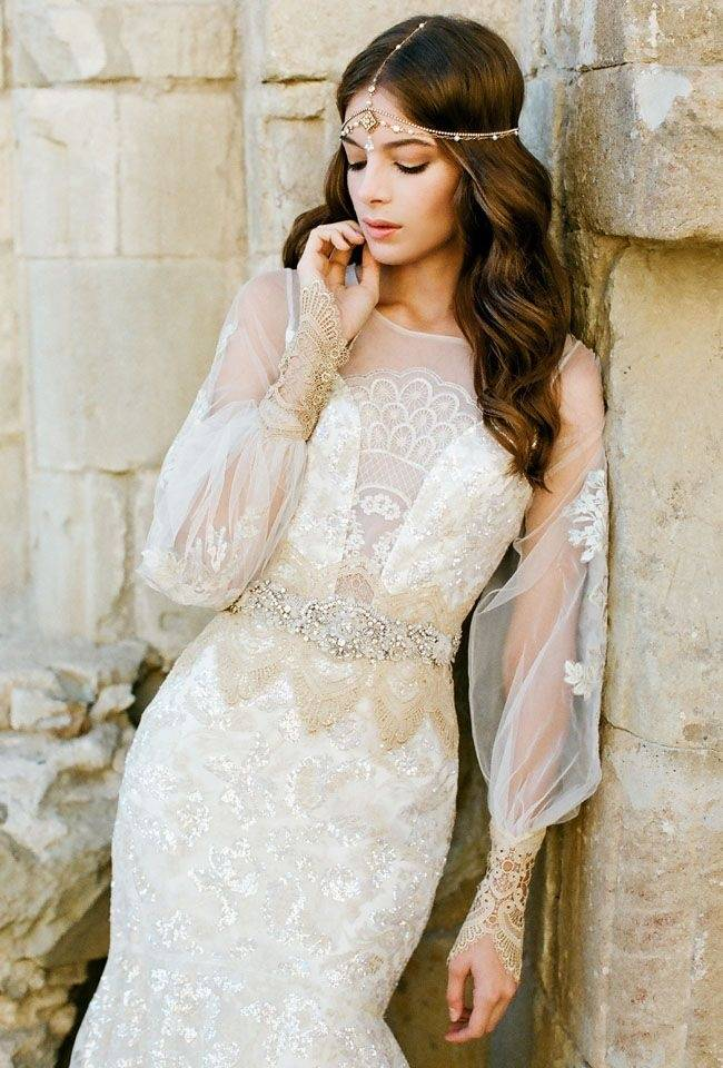 Cтильные свадебные платья 2020 года:  в украинском стиле, в стиле 50-х, в славянском, восточном, стиляг