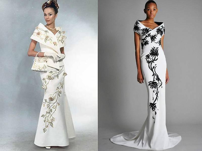 Восточные свадебные платья (фото)