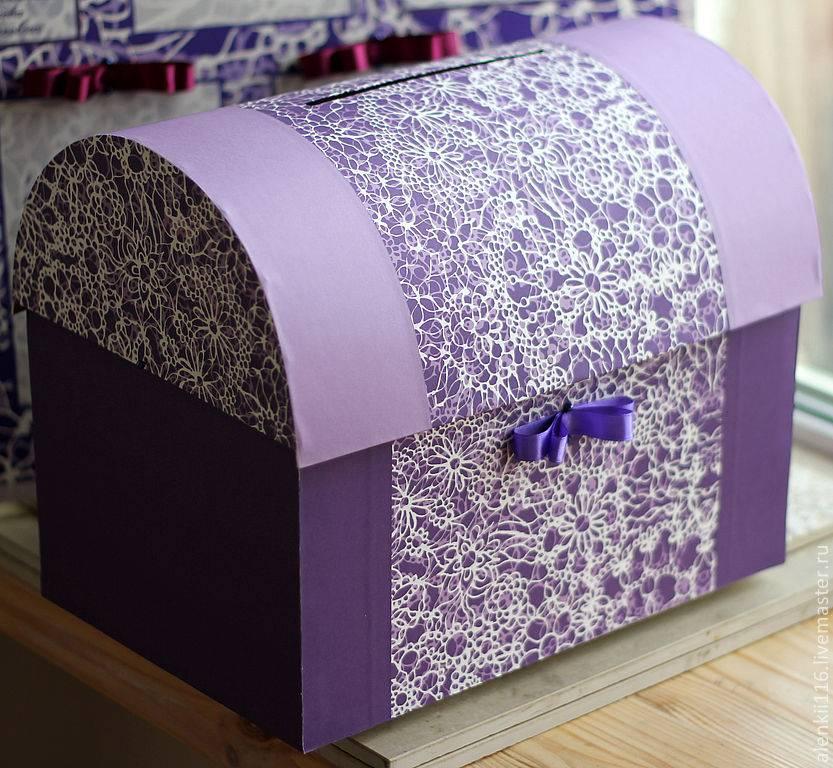 Сундук из коробки своими руками - как сделать красивую шкатулку из подручных средств