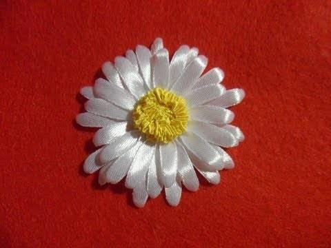 Цветы из лент своими руками :: инфониак
