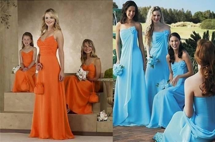 Какое должно быть платье свидетельницы на свадьбе?