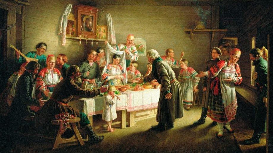 Кириллица  | почему на руси было принято играть свадьбы на красную горку