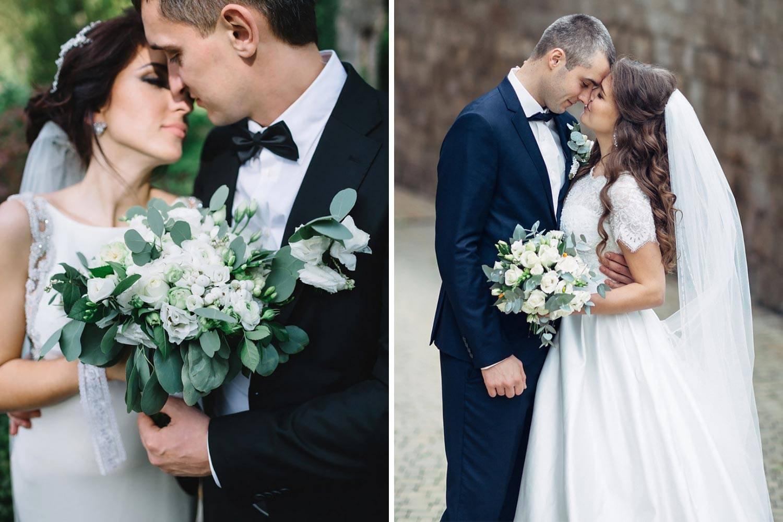 Ваша идеальная свадьба: красивые позы для свадебной фотосессии