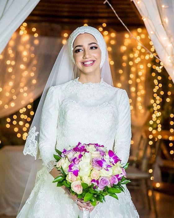 Свадебные платья восточных невест: особенности, фасоны и фото нарядов