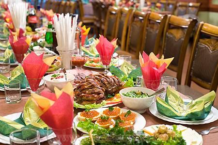 Как выбрать меню на свадьбу?