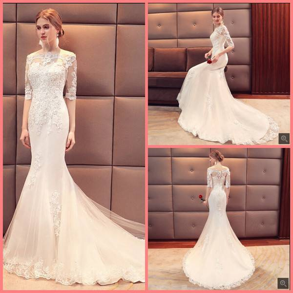 Свадебное платье для полных невест (фото)