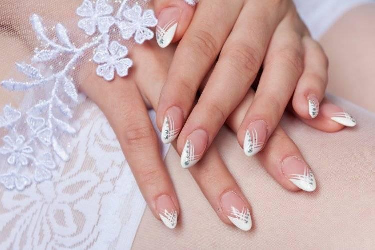 Свадебный дизайн ногтей: идеи оригинального и нежного маникюра