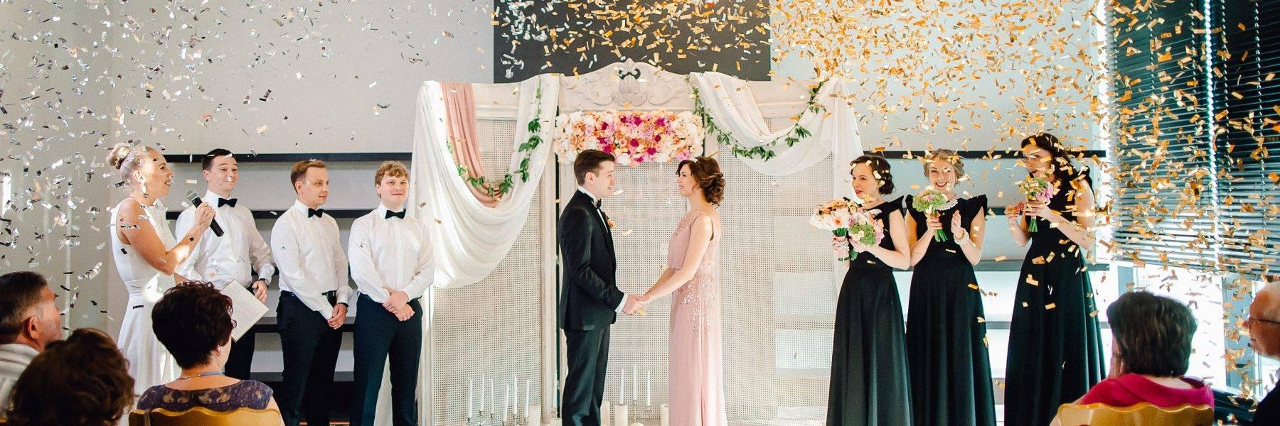 Церемонии на свадьбе, советы и идеи с фото