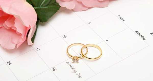 Дата свадьбы: как правильно выбрать и рассчитать благоприятные дни для торжества