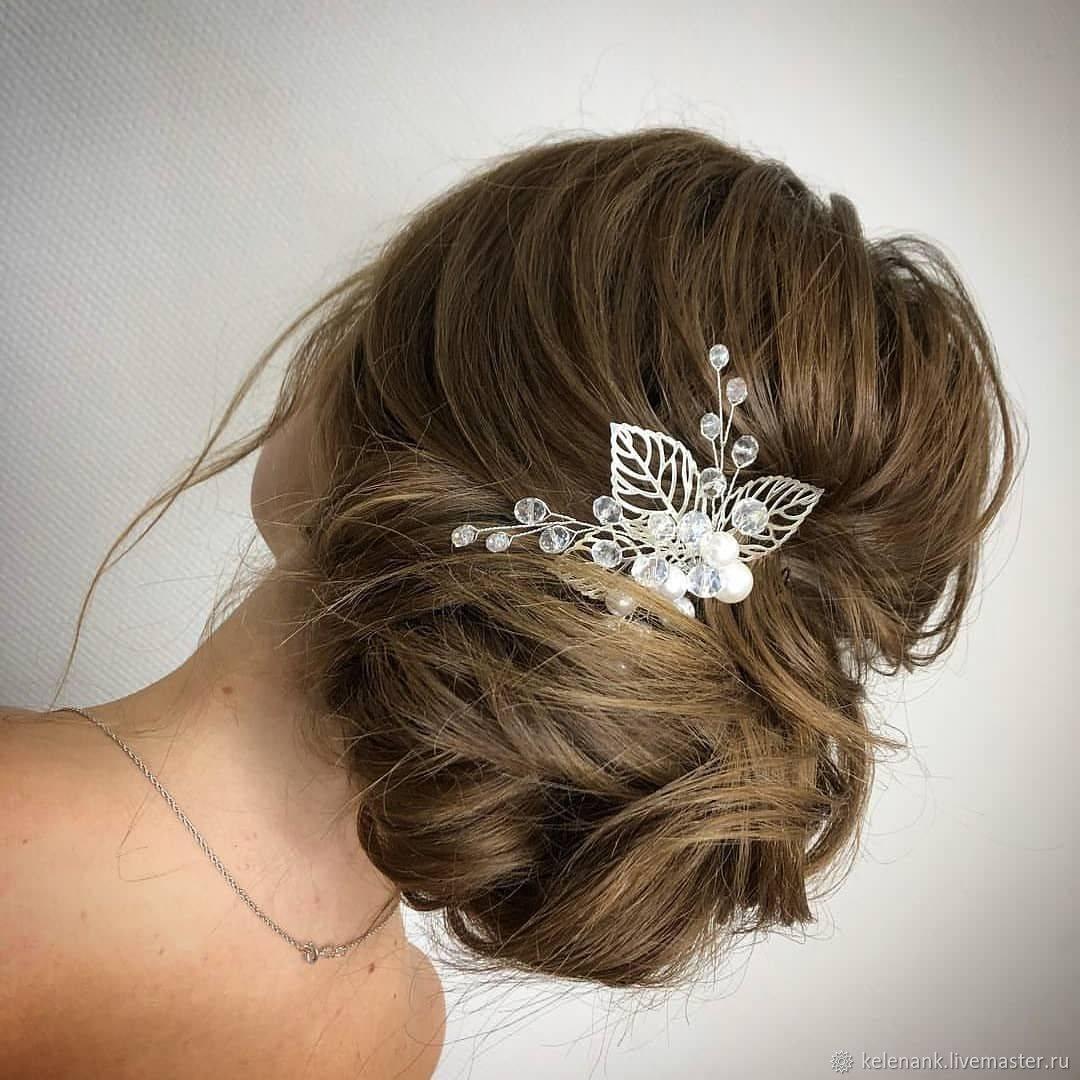 Свадебные украшения на голову невесты: виды аксессуаров, фото и советы по выбору