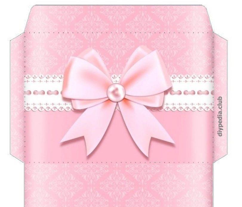 Создание подарочных конвертов для денег своими руками дома
