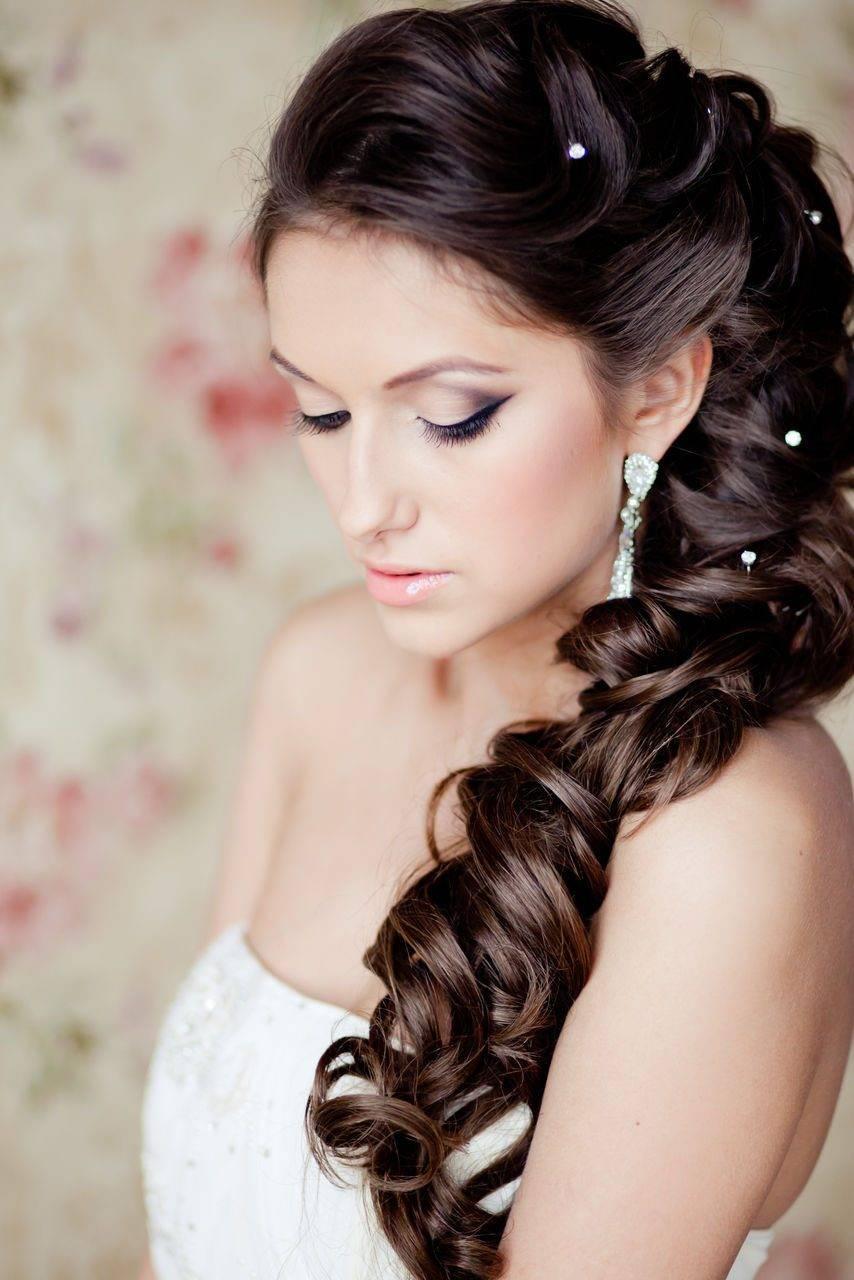Возможности накладных прядей: как сделать свадебную прическу