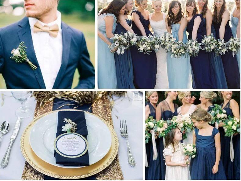 Королевская золотая свадьба: вдохновляющие идеи оформления в королевском цвете